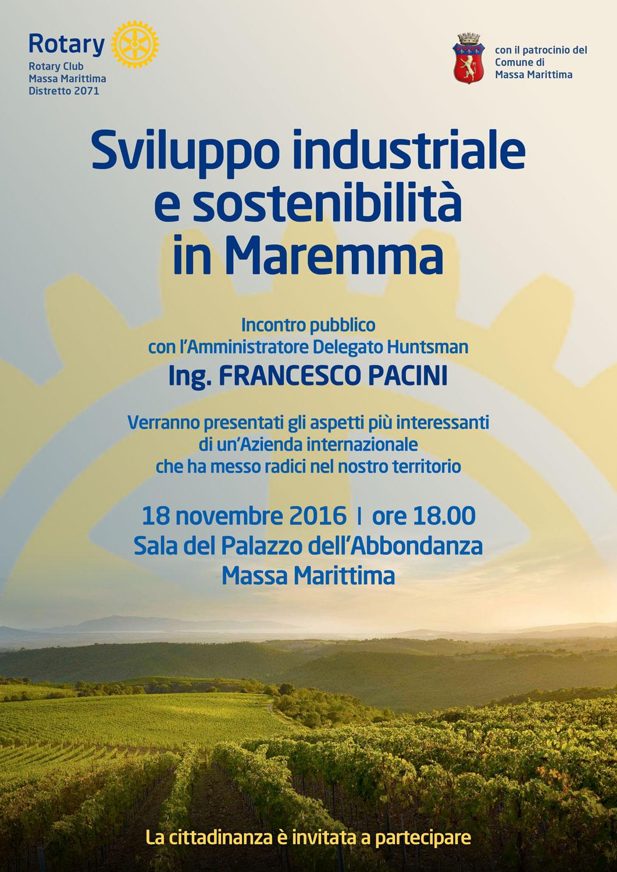 Sviluppo industriale e sostenibilità in maremma